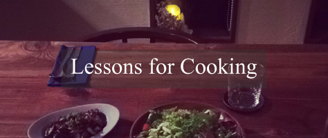Lessons for Cooking
